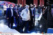 بازدید مدیر شبکه نسیم از پشت صحنه مسابقه تلویزیونی«شوتبال»