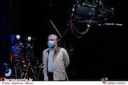 بازدید محمد احسانی از پشت صحنه مسابقه تلویزیونی«شوتبال»
