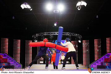 عکس / پشت صحنه مسابقه تلویزیونی«شوتبال»