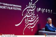 علی انصاری مدیرعامل ایران مال در سی و هفتمین جشنواره بینالمللی فیلم کوتاه تهران