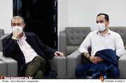 جعفر صانعی مقدم و پسرش در سی و هفتمین جشنواره بینالمللی فیلم کوتاه تهران