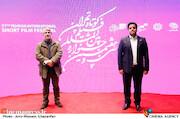 سیدصادق موسوی و محمد حمیدی مقدم در سی و هفتمین جشنواره بینالمللی فیلم کوتاه تهران