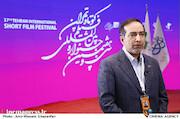 بازدید حسین انتظامی از سی و هفتمین جشنواره بینالمللی فیلم کوتاه تهران