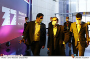 بازدید رئیس سازمان سینمایی از سی و هفتمین جشنواره بینالمللی فیلم کوتاه تهران