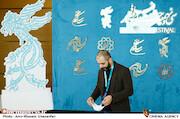 کاوه صباغ زاده در اولین روز سی و نهمین جشنواره فیلم فجر