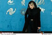 الناز حبیبی در اولین روز سی و نهمین جشنواره فیلم فجر