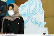 سارا بهرامی در اولین روز سی و نهمین جشنواره فیلم فجر