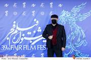 محمدحسین قاسمی در سومین روز سی و نهمین جشنواره فیلم فجر