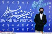 بهرام رادان در سومین روز سی و نهمین جشنواره فیلم فجر