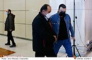 کامبیز دیرباز و علی غفاری در سومین روز سی و نهمین جشنواره فیلم فجر