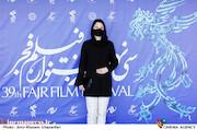 شادی کرم رودی در سومین روز سی و نهمین جشنواره فیلم فجر