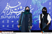الناز شاکردوست و نرگس آبیار در سومین روز سی و نهمین جشنواره فیلم فجر