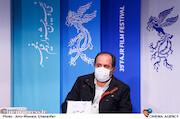 علی غفاری در نشست خبری فیلم سینمایی«تک تیرانداز»