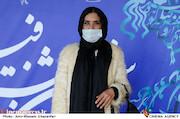 نازنین فراهانی در چهارمین روز سی و نهمین جشنواره فیلم فجر