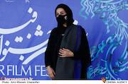 فاطمه معتمدآریا در پنجمین روز سی و نهمین جشنواره فیلم فجر