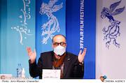 روح الله حجازی در نشست خبری فیلم سینمایی«روشن»