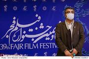 محمدمهدی طباطبایی نژاد در بازید رئیس سازمان سینمایی از سی و نهمین جشنواره فیلم فجر