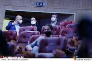 محمدمهدی طباطبایی نژاد و حسین انتظامی در نشست خبری فیلم سینمایی«منصور»