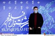 محمد حیدری در هفتمین روز سی و نهمین جشنواره فیلم فجر