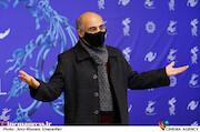 سیاوش چراغی پور در هفتمین روز سی و نهمین جشنواره فیلم فجر