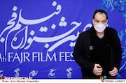 رضا صفایی پور در هفتمین روز سی و نهمین جشنواره فیلم فجر