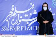آزیتا حاجیان در هفتمین روز سی و نهمین جشنواره فیلم فجر