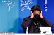 حامد بهداد در نشست خبری فیلم سینمایی«گیجگاه»
