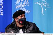 نادر سلیمانی در نشست خبری فیلم سینمایی«گیجگاه»