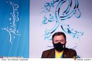 محمود گبرلو در نشست خبری فیلم سینمایی«گیجگاه»