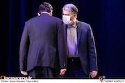 سیدعباس صالحی در مراسم اختتامیه سی و نهمین جشنواره تئاتر فجر