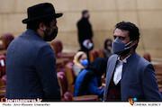 وحید رهبانی در مراسم اختتامیه سی و نهمین جشنواره فیلم فجر