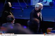 منوچهر شاهسواری در مراسم اختتامیه سی و نهمین جشنواره فیلم فجر