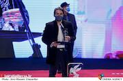 سحاب زریباف در مراسم اختتامیه سی و نهمین جشنواره فیلم فجر