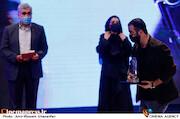 محسن قرایی در مراسم اختتامیه سی و نهمین جشنواره فیلم فجر