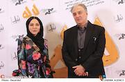 ایرج نوذری و لیلا اوتادی در مراسم اکران خصوصی فیلم سینمایی «لاله»