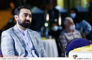 وحید یامین پور در مراسم اختتامیه «هفته هنر انقلاب اسلامی»