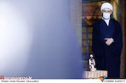 حجتالاسلام قمی در مراسم اختتامیه «هفته هنر انقلاب اسلامی»