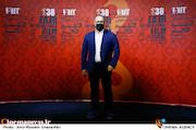 رضا میرکریمی در دومین روز سی و هشتمین جشنواره جهانی فیلم فجر