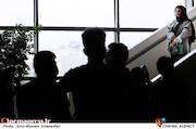 آزاده صمدی در دومین روز سی و هشتمین جشنواره جهانی فیلم فجر