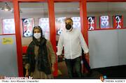 علیرضا شجاع نوری و مونا زندی در دومین روز سی و هشتمین جشنواره جهانی فیلم فجر