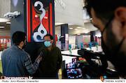 احسان عبدی پور در سومین روز سی و هشتمین جشنواره جهانی فیلم فجر