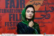 میترا حجار در سومین روز سی و هشتمین جشنواره جهانی فیلم فجر