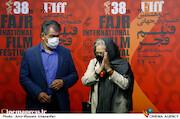 رخشان بنی اعتماد و جهانگیر کوثری در سومین روز سی و هشتمین جشنواره جهانی فیلم فجر