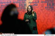 ستاره اسکندری در سومین روز سی و هشتمین جشنواره جهانی فیلم فجر
