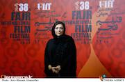 مهوش وقاری در چهارمین روز سی و هشتمین جشنواره جهانی فیلم فجر
