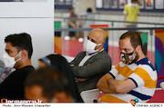 حسن هندی و مسعود نجفی در چهارمین روز سی و هشتمین جشنواره جهانی فیلم فجر