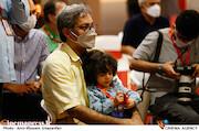 حبیب احمدزاده در چهارمین روز سی و هشتمین جشنواره جهانی فیلم فجر