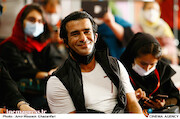 یوسف تیموری در چهارمین روز سی و هشتمین جشنواره جهانی فیلم فجر