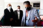 حجت الاسلام و المسلمین  مرتضی آقاتهرانی در پنجمین روز سی و هشتمین جشنواره جهانی فیلم فجر