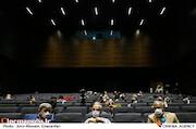 محمدمهدی عسگرپور، احمد مسجدجامعی و پیروز حناچی در پنجمین روز سی و هشتمین جشنواره جهانی فیلم فجر